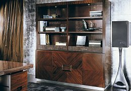 Paradiso Office 6082 Credenza Rosewood